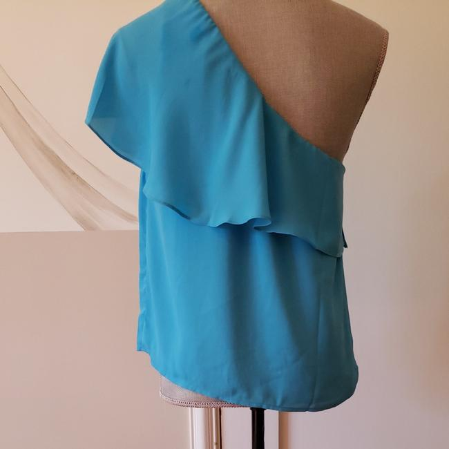 finn and grace Top Turquoise