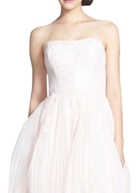 Preload https://img-static.tradesy.com/item/24061864/ted-baker-pink-raul-embroidered-fit-and-flare-mid-length-cocktail-dress-size-2-xs-0-1-650-650.jpg