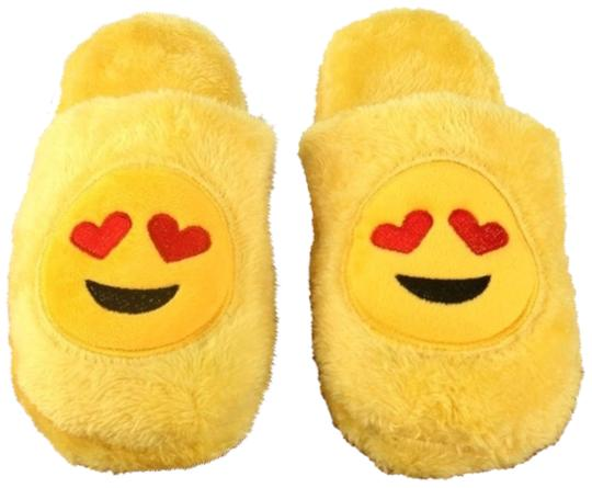 Preload https://img-static.tradesy.com/item/24061868/yellow-in-love-with-you-slippers-new-02-3839-l10-flats-size-eu-38-approx-us-8-regular-m-b-0-1-540-540.jpg
