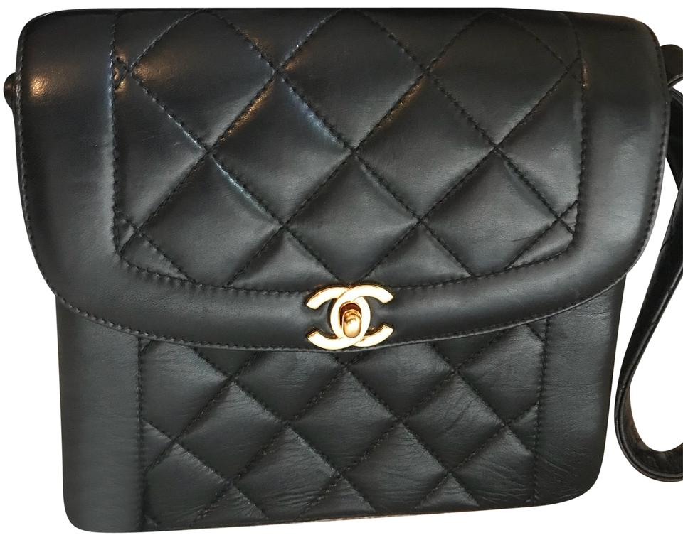 3788b9f20d64fc Chanel Small Classic In Black Quilted Leather with Gold Logo.will Come with  Box Dust and A Card The Shoulder Bag
