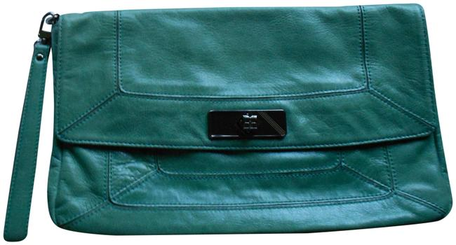Item - Style Han716 Green Leather Clutch