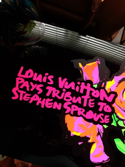 Louis Vuitton ULTRA ULTRA RARE Louis Vuitton x Stephen Sprouse Tribute Art Piece