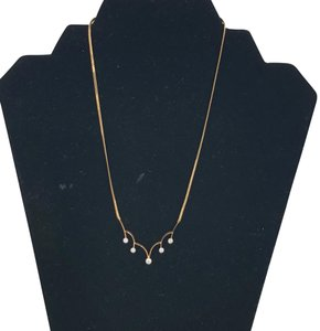 14KT Yellow Gold Necklace Pat. No. 3350753