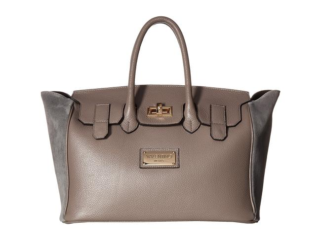 Item - Bags By Omia Grey Leather Satchel