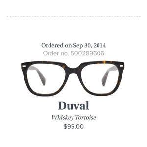 Warby Parker Duval