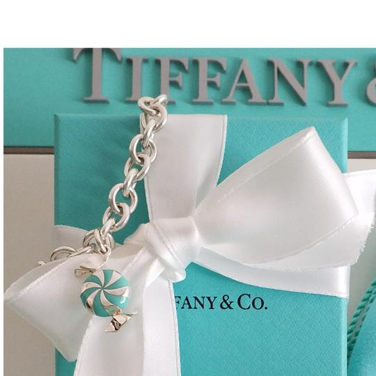 Tiffany & Co. Tiffany & Co Rare Enamel Candy Charm Toggle Bracelet Bangle