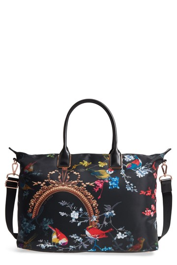 Preload https://img-static.tradesy.com/item/24062162/ted-baker-london-phoenii-opulent-fauna-large-tote-black-weekendtravel-bag-0-0-540-540.jpg