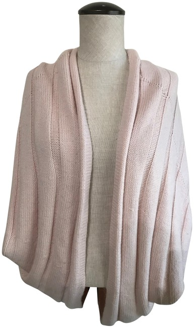 Preload https://img-static.tradesy.com/item/24062186/juicy-couture-pale-pink-wool-cashmere-wrap-ponchocape-size-petite-4-s-0-1-650-650.jpg