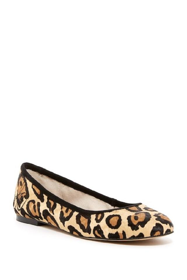 4fc8f8a51 Sam Edelman Leopard Animal Print Ballet Leather Cheetah Flats Image 0 ...