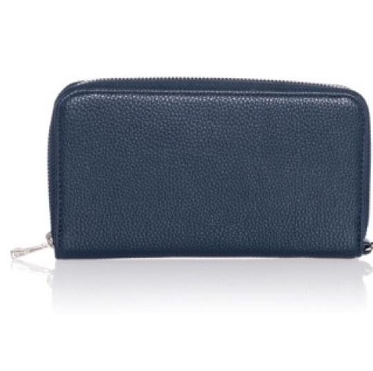 Preload https://img-static.tradesy.com/item/24062268/all-about-the-benjamins-navy-blue-faux-leather-wristlet-0-0-540-540.jpg