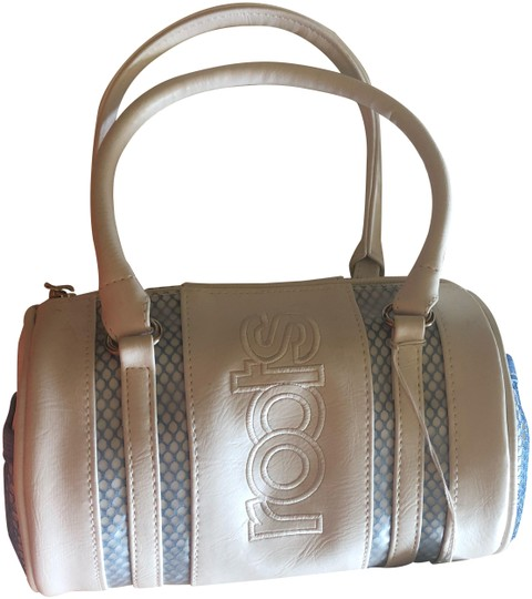 Preload https://img-static.tradesy.com/item/24062402/roots-and-blue-leather-white-satchel-0-2-540-540.jpg