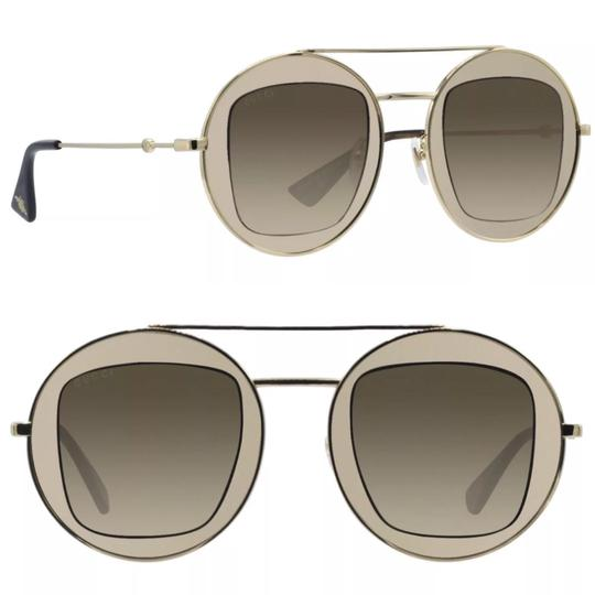 Preload https://img-static.tradesy.com/item/24062443/gucci-white-gold-round-frame-sunglasses-0-0-540-540.jpg