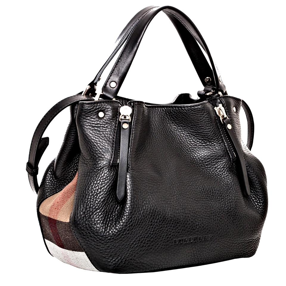 34ab2a5152d7 Burberry Small Maidstone Black Leather Shoulder Bag - Tradesy