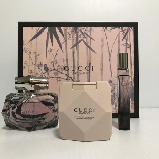 Gucci GUCCI BAMBOO BY GUCCI WOMEN PERFUME 3 PC GIFT SET EDP 2.5 OZ + MINI +