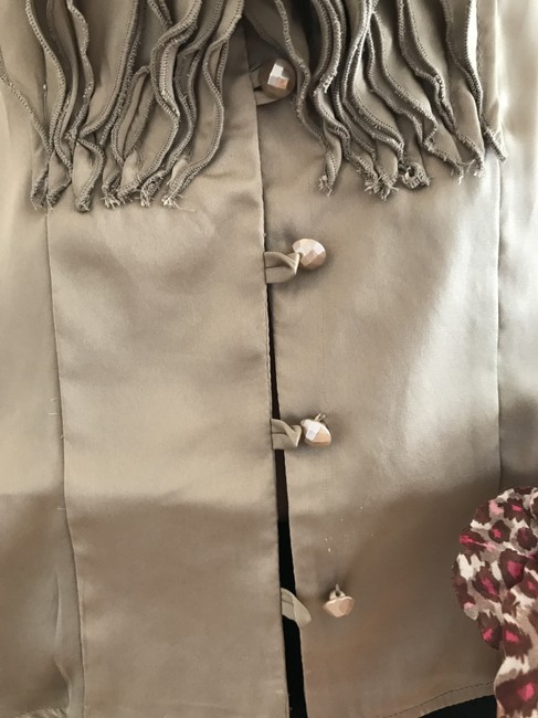 Lapis Button Down Shirt taupe