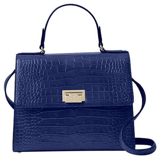 Preload https://img-static.tradesy.com/item/24062694/kate-spade-knightsbridge-doris-wkru3241-asilah-croc-embossed-blue-leather-shoulder-bag-0-1-540-540.jpg