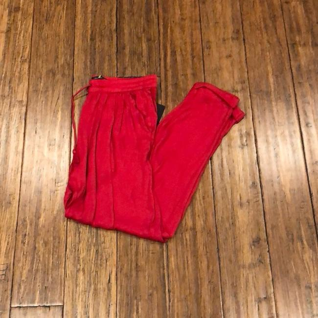 Trafaluc Baggy Pants Red