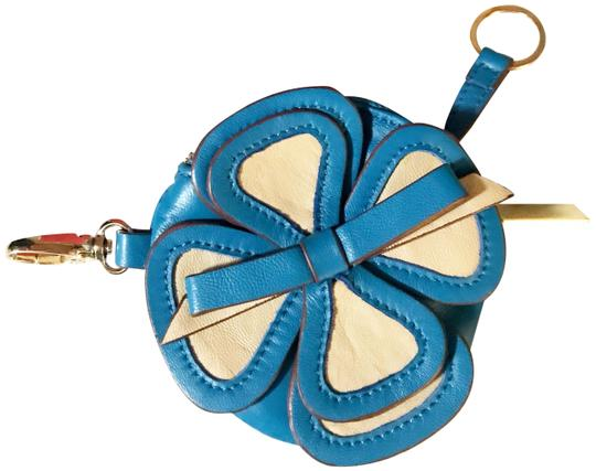 Preload https://img-static.tradesy.com/item/24062712/valentino-blue-and-ivory-rare-flower-coin-purse-key-pouch-keychain-bag-charm-wallet-0-1-540-540.jpg