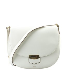 Céline Leather Shoulder Bag