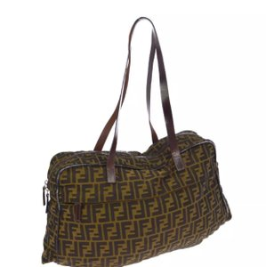 Fendi Tote in brown/ black