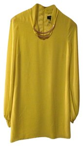 Marciano short dress Yellow on Tradesy