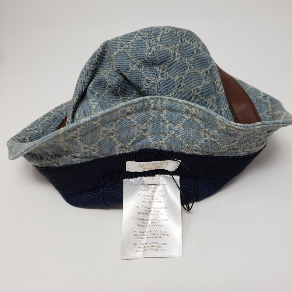 6e8ae244d99 Gucci blue web woven bucket hat tradesy jpg 960x960 Gucci bucket hat blue