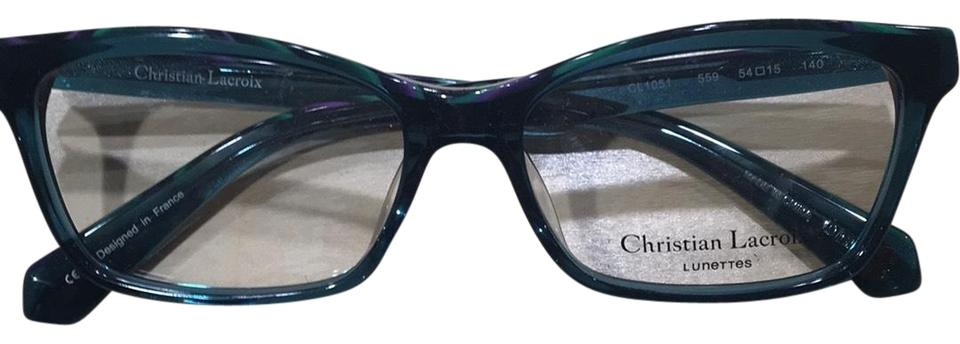 aa4d7200d4 Christian Lacroix Green Cl1051 Sunglasses - Tradesy