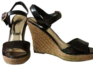 Charles by Charles David Black, Gold Wedges