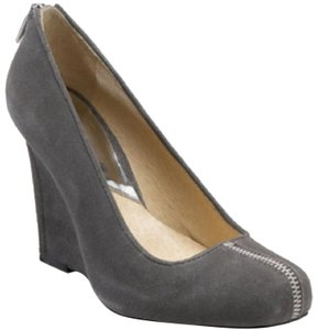 Michael Kors Gray, Grey Wedges