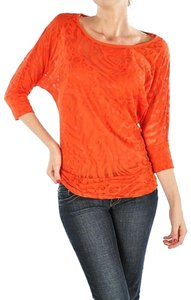 Ambiance Apparel Plus T Shirt Coral