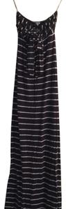 navy blue and white Maxi Dress by Splendid
