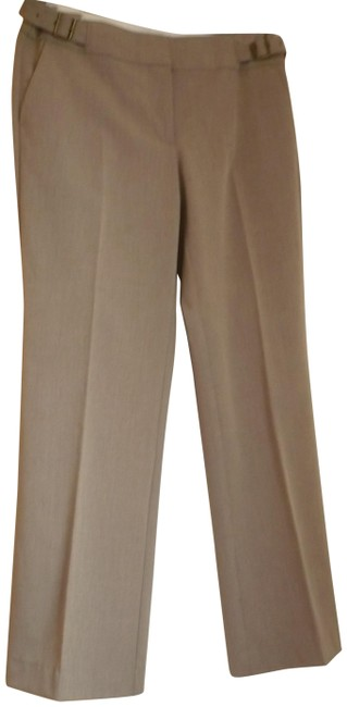 Ann Taylor LOFT Tan Julie Collection Pants Size Petite 6 (S) Ann Taylor LOFT Tan Julie Collection Pants Size Petite 6 (S) Image 1