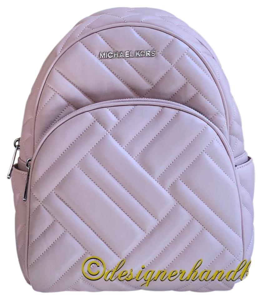 ... 50% off michael kors quilted leather medium abbey holiday 2018 gift  backpack 295b0 0179c ba3b13223349b