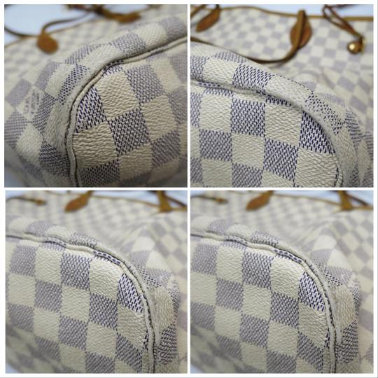 Louis Vuitton Tote in Blue Image 5