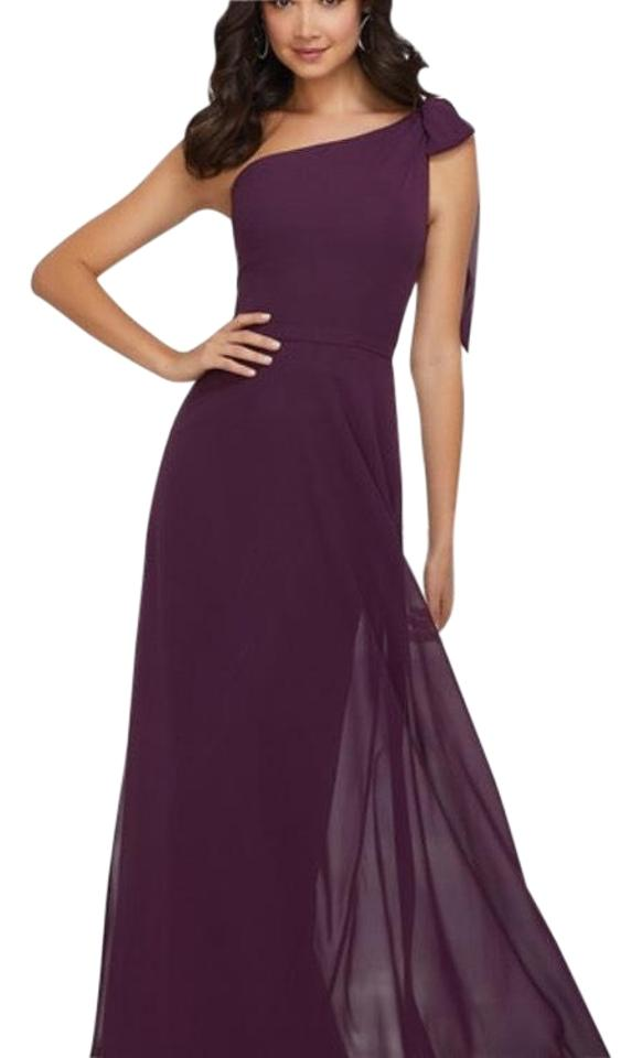 c51d051858f Mori Lee Eggplant Style 21539 Long Formal Dress Size 6 (S) - Tradesy
