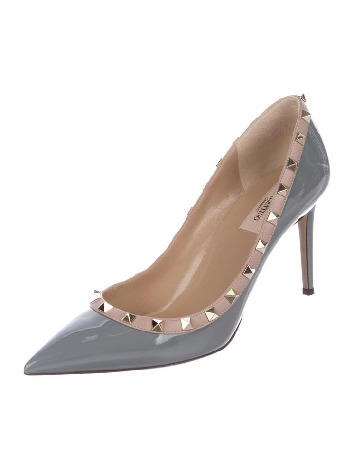 4994ff741d54 Valentino New Rockstud Patent Leather Pumps Size EU 40.5 (Approx. US ...
