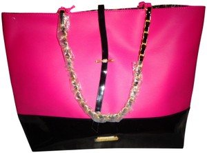 Juicy Couture Tote in Hot Pink & Black