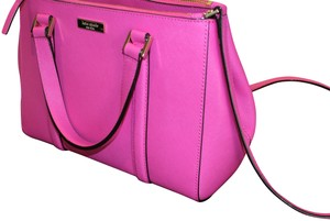 Kate Spade Purse Chic Limited Edition Satchel in Bougainvillea Pink