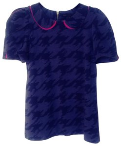 Marc by Marc Jacobs Top Blue w/pink details