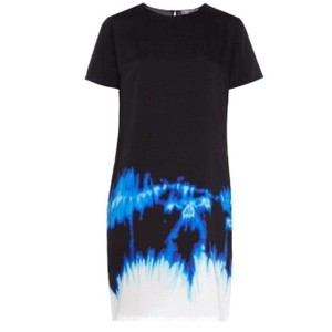Vince short dress Black, Blue,White on Tradesy