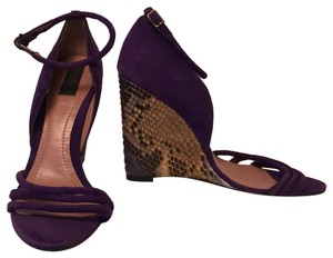 Derek Lam purple Wedges