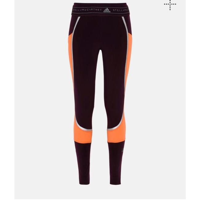 Item - Orange and Burgundy Climaheat Activewear Bottoms Size 6 (S)