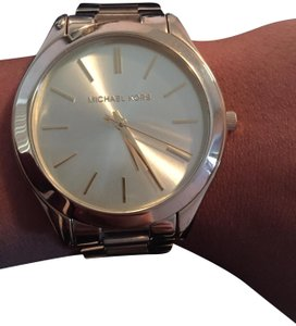 Michael Kors Michael Kors Gold Slim Runway watch