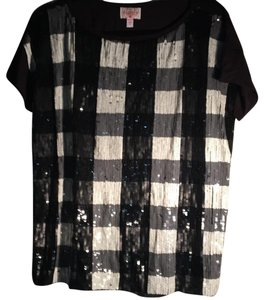 Plenty by Tracy Reese Top black/grey/ivory