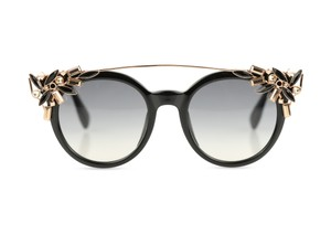 81561b6108170 Jimmy Choo Vivy Gradient Round Frames with Detachable Jewel Clip On
