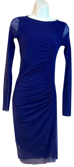Item - Blue Soleil Stretch S Short Night Out Dress Size 6 (S)