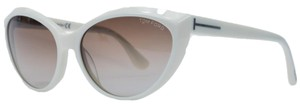 Tom Ford Tom Ford Ivory Full Rim Cateye Sunglasses