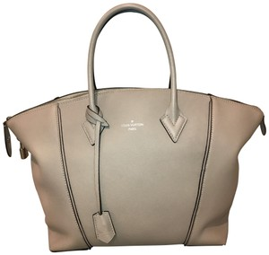 Louis Vuitton Satchel in beige galet(taupe /gray neutral)