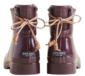 Sperry Purple Boots
