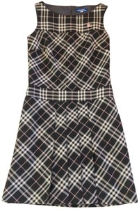 Burberry Blue Label short dress Black Check on Tradesy